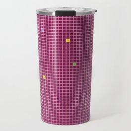 Checked Pattern_W Travel Mug