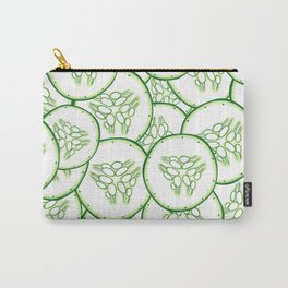 Cucumber slices pattern design Carry-All Pouch