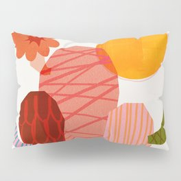 Abstraction_Cactus_&_Sun Pillow Sham