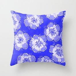 Dutch Lace Rose Throw Pillow