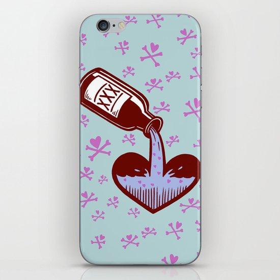 Drunkenheart iPhone & iPod Skin
