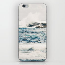 Rough Waters on the Coast of Maui iPhone Skin
