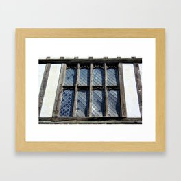 15th Century Medieval Window Framed Art Print
