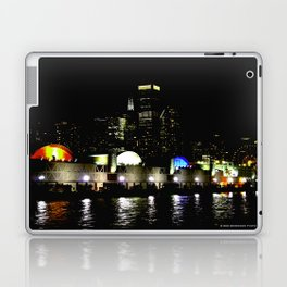 Navy Pier in Living Color: View from the Lake (Chicago Architecture Collection) Laptop & iPad Skin