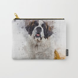 St Bernard Carry-All Pouch