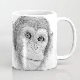 A Chimpanzee :: Not Monkeying Around Coffee Mug