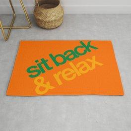 Sit Back & Relax - Citrus Rug