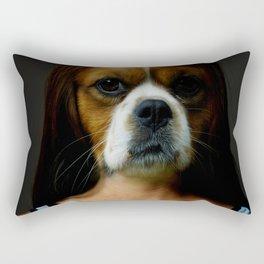 DogWoman #society6 #decor #buyart #artprint Rectangular Pillow