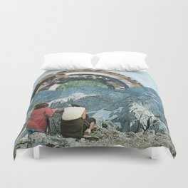 Over the Horizon Duvet Cover