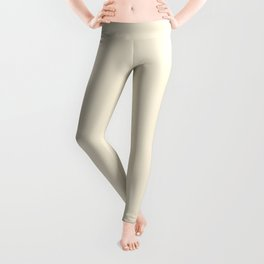 Now SWEET CORN PASTEL solid color Leggings