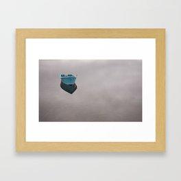 Newfoundland Lake Framed Art Print