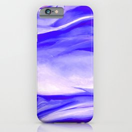 Light Purple Abstract Painting  iPhone Case