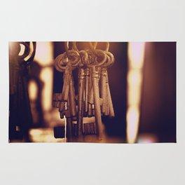 Hanging Keys+Bokeh Rug