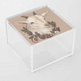 Goat and Figs Acrylic Box