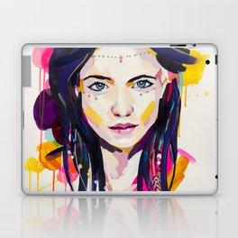 Cactus Flower - by Jen Sievers Laptop & iPad Skin
