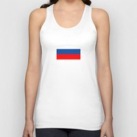russia Tank Tops featuring Russia. by Skiller Moves