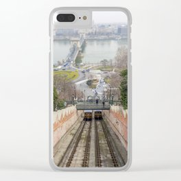 Funicular. Clear iPhone Case