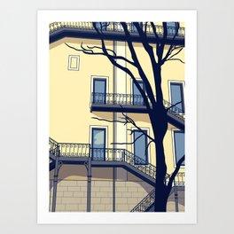 Chiado #1 Art Print