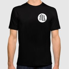 The Immortal Turtle (Front Logo) Mens Fitted Tee MEDIUM Black