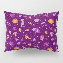 Autumn Pattern Pillow Sham