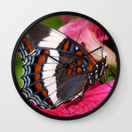 Butterfly IV Wall Clock