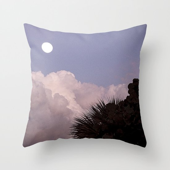 Rising Moon Throw Pillow