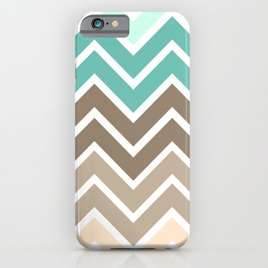 BEACHY CHEVRON iPhone & iPod Case