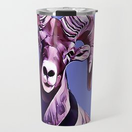 The Mountain Ram Travel Mug