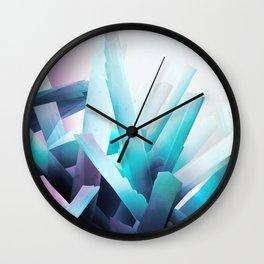 crystal madness wall clock