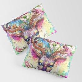 Spring Stag Pillow Sham