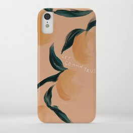 """""""Let Go And Trust"""" iPhone Case"""