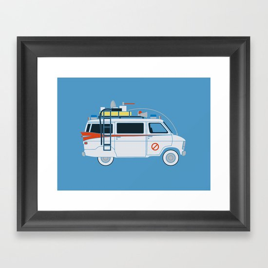 Ecto Van-1 Framed Art Print