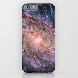 Spiral Galaxy M83 iPhone Case