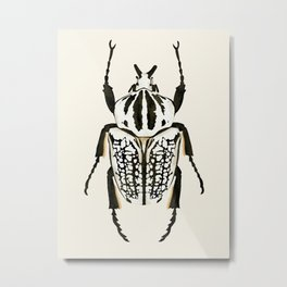 beetle insect Metal Print