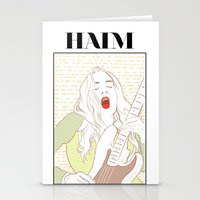 haim Stationery Cards featuring Este Haim by chazstity