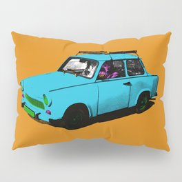 Trabant blue pop Pillow Sham