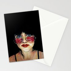 Sunglasses in the Dark Stationery Cards