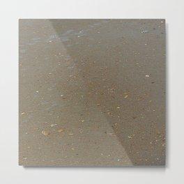 sand, sea and shells Metal Print