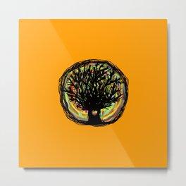 Life colors tree Metal Print