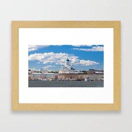 Helsinki Cityscape Framed Art Print