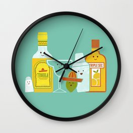 Margarita! Wall Clock