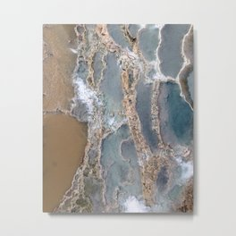 Hot springs Metal Print