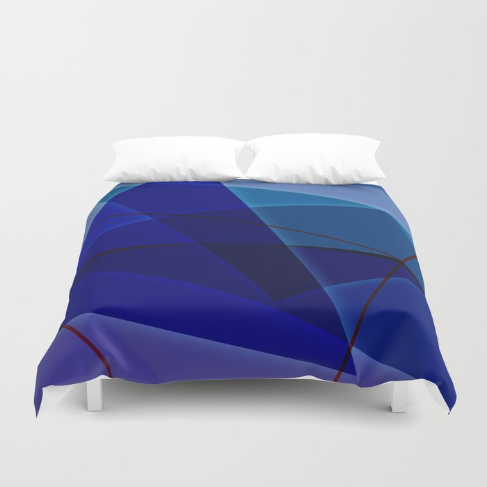Abstract #420 Duvet Cover