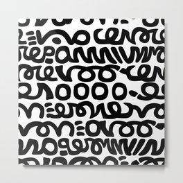 Haring Ish Metal Print
