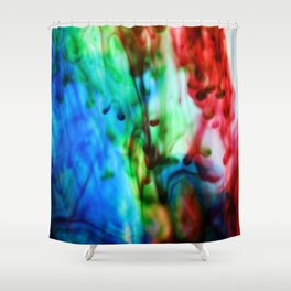 Below the surface Shower Curtain