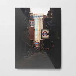 Printer's Alley Nashville Metal Print