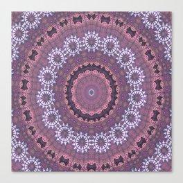 Mandalic Thread Display Mandala Revamped Canvas Print