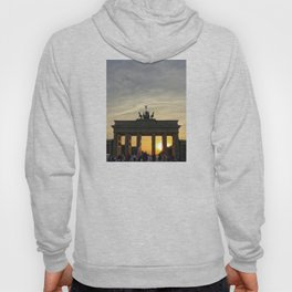 Sunset at the Brandenburg Gate, Berlin Hoody