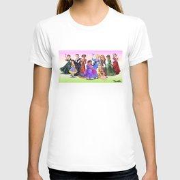 """Ten Real-World Princesses Who Don't Need Disney Glitter"" Trumble Cartoon T-shirt"