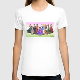 """Ten Real-World Princesses Who Don't Need Disney Glitter"" Trumble Cartoon T-shirt"